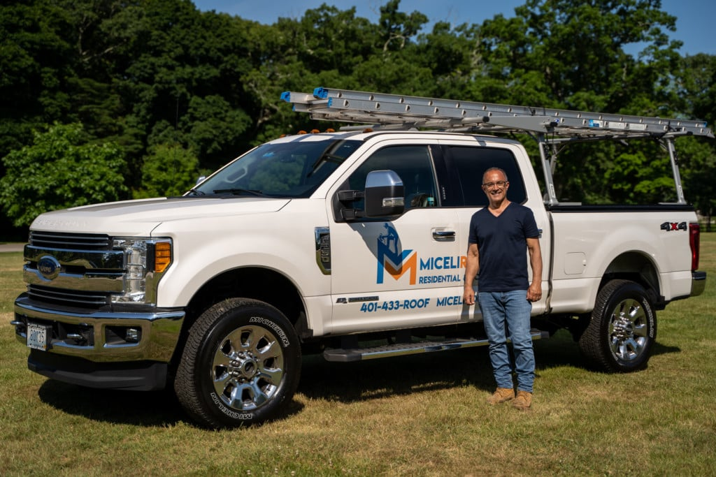 Owner Jon with Miceli Truck