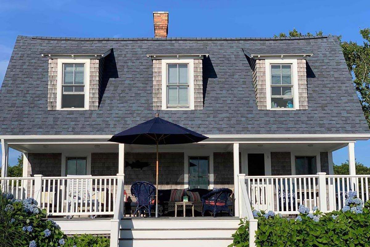 Block Island Home Miceli did roof on